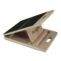 Yes4All 4-level Adjustable Wooden Slant Board Incline Board Stretch Board