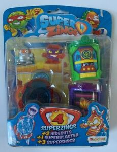 Super Zings Series 2 MagicBox Toys with Hideouts, Superblaster and Superdiscs