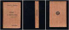 L'Araucana - D. Alonso de Ercilla Y Zuniga - 1900 - 344 pages 18 x 11,8 cm - B12