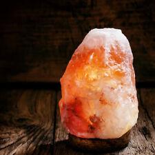 Crafted sel de l'Himalaya Lampe naturel forme 2-3 Kg y compris (CABLE + Ampoule)