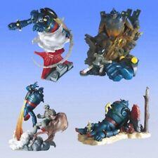 2004 Year Gashapon Bandai Super Robot Wars Tetsujin 28 Set of 4 pcs Figure T28