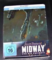 Midway Pour La Liberté Limitée steelbook Avec Hörfilmfassung blu ray Nouveau Ovp