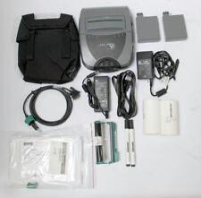 """Zebra P4T P4D-0U100000-B1 4"""" Mobile Thermal Barcode Tag Label Printer"""