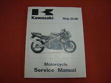 1993-2001 Ninja ZX-6, ZZ-R600, & ZZ-R500 Kawasaki Service Manual Supplement