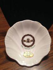 VTG 1980s Royal Tara Irish Bone China Shell Dish Celtic Brooch Gold Trim