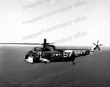 8x10 Print Navy Hellicopter Sikorsky HSS-2 Sea King in Filght #HSS2