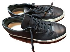 COMMON PROJECTS Low Black Casual Shoe Sneaker Leather Sz 8  US 41EU