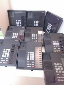 Set of 9 Toshiba DKT2010-S Digital Business Key Telephones - TESTED - Fast Ship!