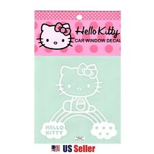 Hello Kitty Car Window Decal Sticker (Car Accessory) : Rainbow