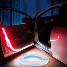 1Pair Car Door Open Warning Lamp Flowing Flashing LED Lights Strip Accessories