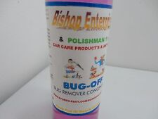 BUG OFF/ALUMINUM,CHROME,PAINT,& GLASS/GORD'S POLISHMAN1'S 16-OZ INCLS.