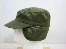 USN INTERMEDIATE COLD WEATHER WOOL CAP NEW OLD STOCK 1961 VIETNAM ERA MEDIUM