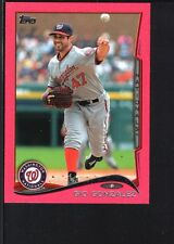 GIO GONZALEZ 2014 TOPPS MINI #523 PINK PARALLEL NATIONALS SP #14/25