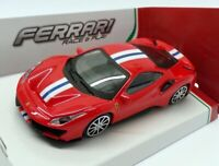 FERRARI 488 PISTA 1:43 Scale Model Die Cast Toy Car Racing Diecast Miniature