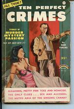 Ten Perfect Crimes Rainbow #103 digest magazine 1954 VG