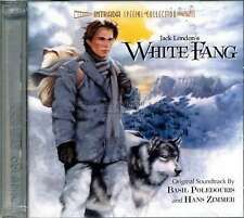 "Basil Poledouris Hans Zimmer ""WHITE FANG"" score Intrada Ltd 2CD SEALED sold out"