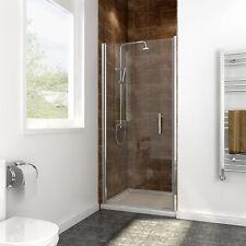 "New Semi-Frameless Glass Pivot Door 30"" x 72"" Alcove Shower Chrome Free shipment"