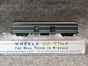 Wheels Of Time N Southern Pacific 60' Baggage-Express Car Wood Doors #6349