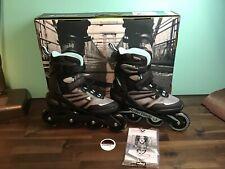 Rollerblade Zetrablade - Women's Inline Skates Size 8 - Black, Light Blue, Grey
