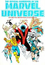 THE OFFICIAL HANDBOOK OF THE MARVEL UNIVERSE volume 5 - TPB 1987
