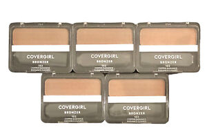 CoverGirl Cheekers Pressed Powder Bronzer #102 COPPER RADIANCE Lot Of 5