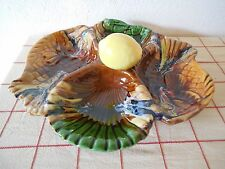 Fabulous VALLAURIS FRENCH Majolica SEA FOOD DISH - signed VALLAURIS / PLATE