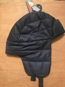 MEN'S MARKS AND SPENCER NAVY QUILTED TRAPPER HAT WITH THERMOWARMTH SIZE S/M