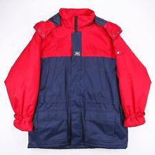 Vintage HELLY HANSEN Blue Red Hooded Puffer Jacket Outdoor Men's XL