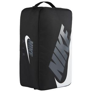 Nike Air Black Shoe Box Travel Bag Protector