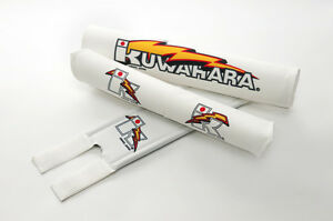 Kuwahara Limited Release, Re-issued 3-piece White V-Bar Pad Set