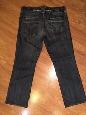 Men's Serfontaine  Bootcut Jeans Sz 36 Inseam 33 Distressed. M6