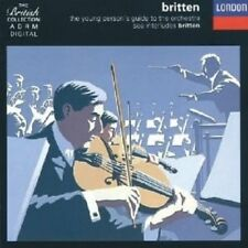 BENJAMIN BONYNGE.RICHARD/BRITTEN - YOUNG PERSON'S GUIDE TO THE ORCHESTRA CD NEW+