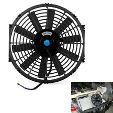 "12V 80W 12"" High Performance Slim Car Electric Plastic Cooling Fan Radiator Kit"