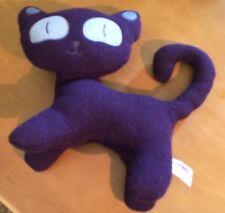 Gund Hasumi Purple Cat Plush #4054191