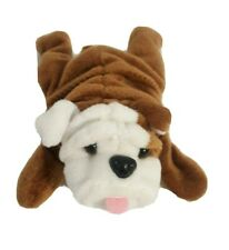 Super Cute Bulldog Plush Stuffed Bean Bag Toy, like Beanie Baby Wrinkles, New