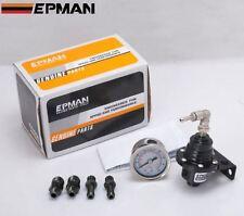 Regolatore benzina EPMAN 2 colori manometro 11 bar tuning,rally,drift universale