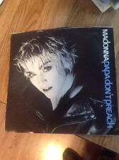 Madonna - Papa Don't Preach - 45 Record And Picture Sleeve 1986 NM