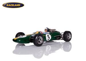 Lotus 33 Climax F1 1° GP England 1965 Weltmeister Jim Clark, Spark 1:18, 18S416