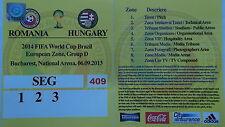 TICKET Pitch Public Area LS 6.9.2013 Rumänien - Ungarn