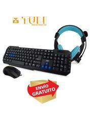 Teclado Gaming 3GO Combodrileh Combo teclado Auriculares Raton
