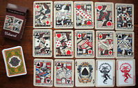 №125! Playing cards Mediaeval. Reprint of the deck published in 1895