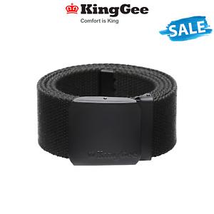 SALE KingGee Originals Stretch Belt Ultra Comfort Flexibility Work Buckle K61231