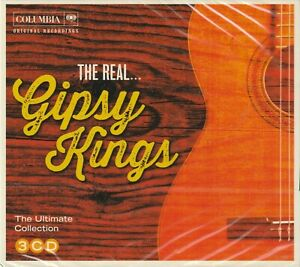 Gipsy Kings - The Real...  3CD  (Columbia / Sony 2014)  NEW / SEALED