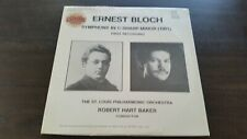 New Ernest Bloch Symphony In C-Sharp Minor (1901) First recording LP Vinyl
