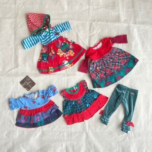 NEW MATILDA JANE BOUGHS 5 pieces doll clothes msrp $65 26511A OS Floral (B2)