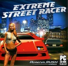 Extreme Street Racer   Conquer ten challenging tracks  Win 7 Vista XP  NEW