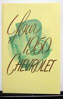 1950 Chevrolet Styleline Fleetline Owners Operators Manual Reproduction
