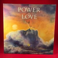 VARIOUS The Power Of Love 1986 UK DOUBLE vinyl LP EXCELLENT CONDITION