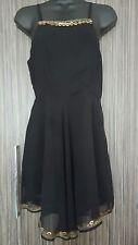 Unbranded No Pattern Strappy, Spaghetti Strap Skater Women's Dresses