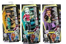 Monster High Signature Look Reboot Dolls LAGOONA BLUE CLEO DE NILE CLAWDEEN WOLF